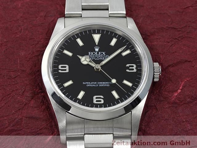 Used luxury watch Rolex Explorer steel automatic Kal. 3000 Ref. 14270  | 140199 15