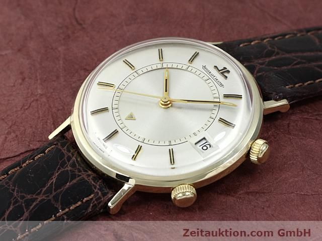 Used luxury watch Jaeger Le Coultre Memovox gold-plated manual winding Kal. K911 Ref. E11008  | 140204 01
