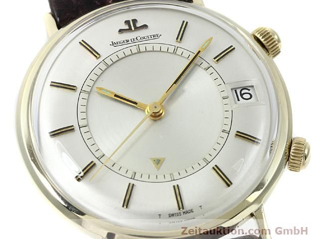 Used luxury watch Jaeger Le Coultre Memovox gold-plated manual winding Kal. K911 Ref. E11008  | 140204 02