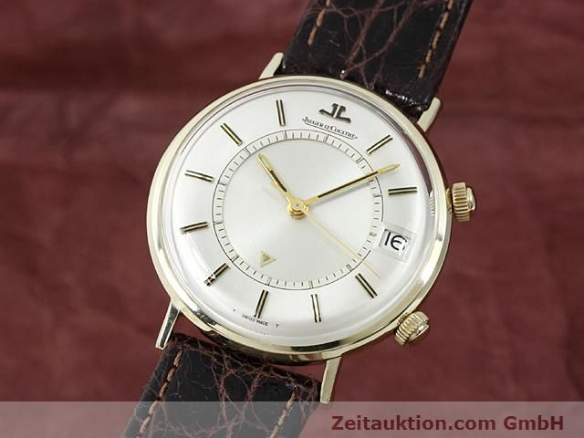 Used luxury watch Jaeger Le Coultre Memovox gold-plated manual winding Kal. K911 Ref. E11008  | 140204 04