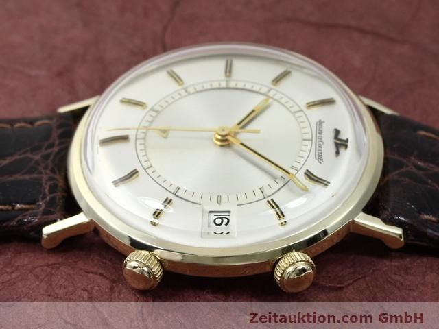 Used luxury watch Jaeger Le Coultre Memovox gold-plated manual winding Kal. K911 Ref. E11008  | 140204 05