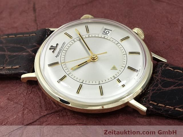 Used luxury watch Jaeger Le Coultre Memovox gold-plated manual winding Kal. K911 Ref. E11008  | 140204 13