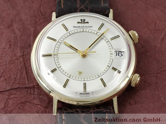 Used luxury watch Jaeger Le Coultre Memovox gold-plated manual winding Kal. K911 Ref. E11008  | 140204 14