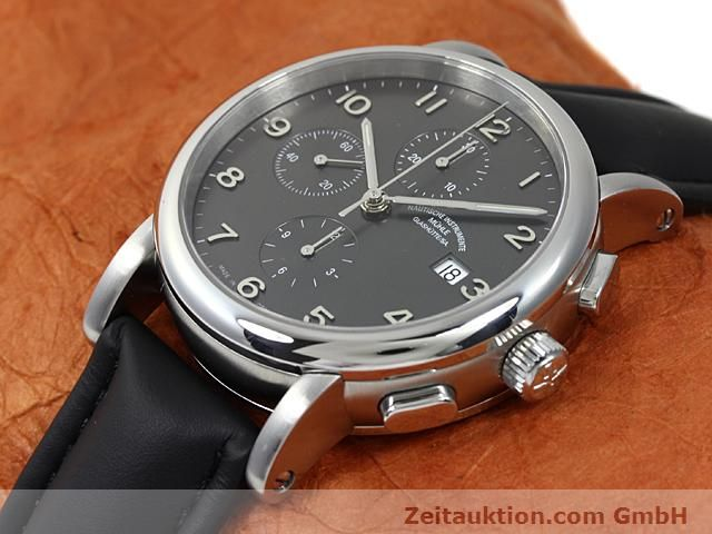 Used luxury watch Mühle Antaria steel automatic Kal. MU 9408 ETA 7750 Ref. M1-39-00  | 140206 01