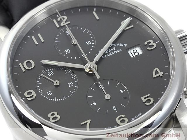Used luxury watch Mühle Antaria steel automatic Kal. MU 9408 ETA 7750 Ref. M1-39-00  | 140206 02