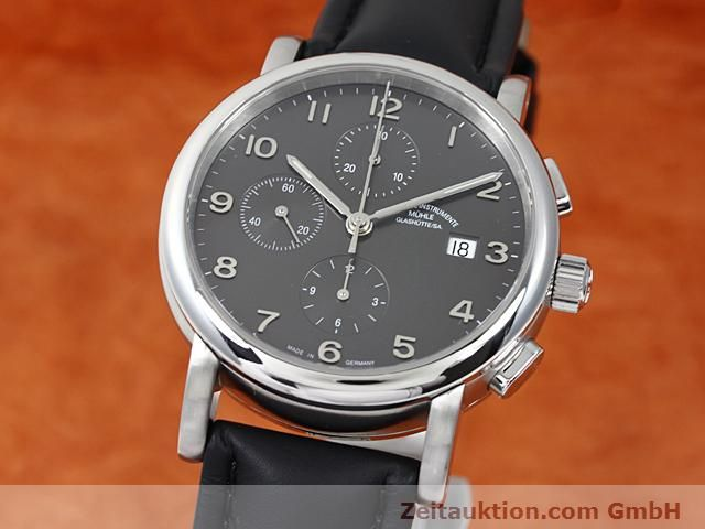 Used luxury watch Mühle Antaria steel automatic Kal. MU 9408 ETA 7750 Ref. M1-39-00  | 140206 04