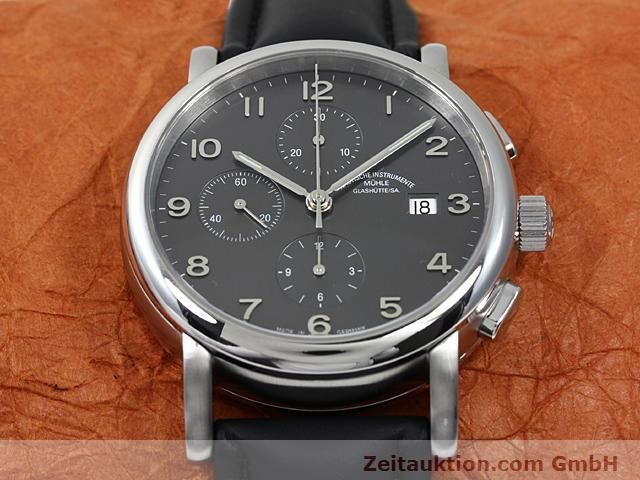 Used luxury watch Mühle Antaria steel automatic Kal. MU 9408 ETA 7750 Ref. M1-39-00  | 140206 15