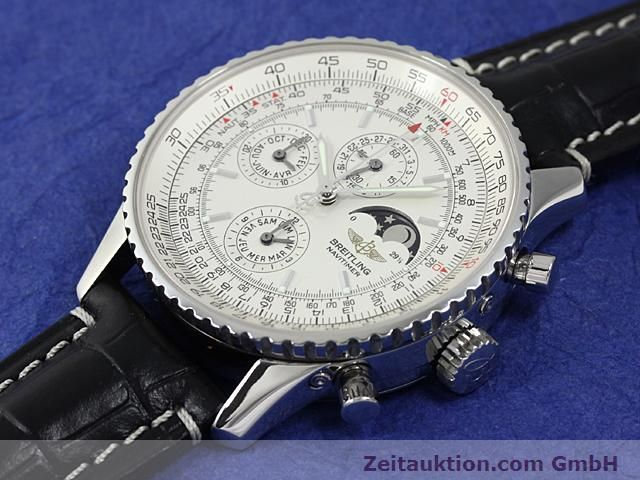 Used luxury watch Breitling Montbrillant steel automatic Kal. ETA 2892A2 Ref. A19340  | 140212 01