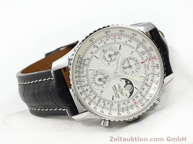 Used luxury watch Breitling Montbrillant steel automatic Kal. ETA 2892A2 Ref. A19340  | 140212 03