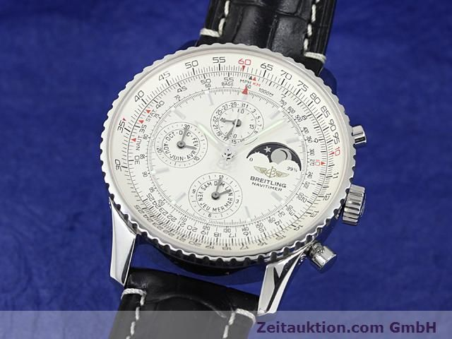 Used luxury watch Breitling Montbrillant steel automatic Kal. ETA 2892A2 Ref. A19340  | 140212 04