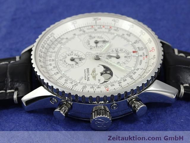 Used luxury watch Breitling Montbrillant steel automatic Kal. ETA 2892A2 Ref. A19340  | 140212 05