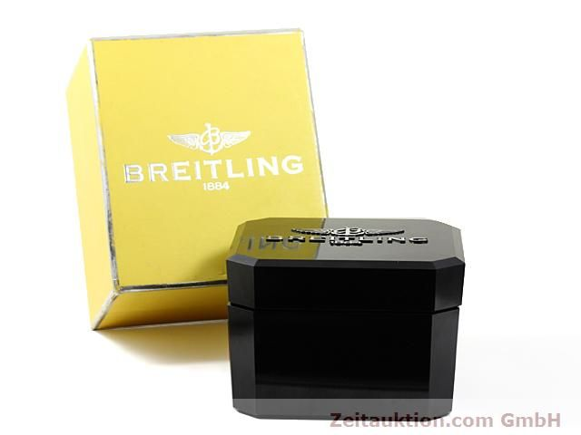 Used luxury watch Breitling Montbrillant steel automatic Kal. ETA 2892A2 Ref. A19340  | 140212 06