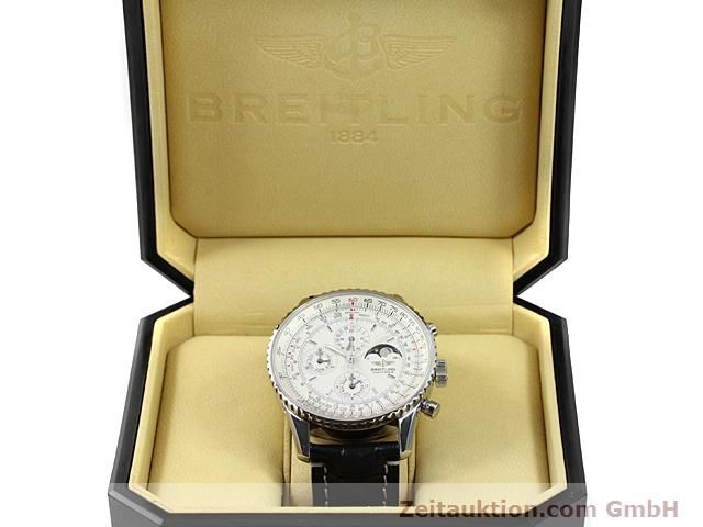 Used luxury watch Breitling Montbrillant steel automatic Kal. ETA 2892A2 Ref. A19340  | 140212 07