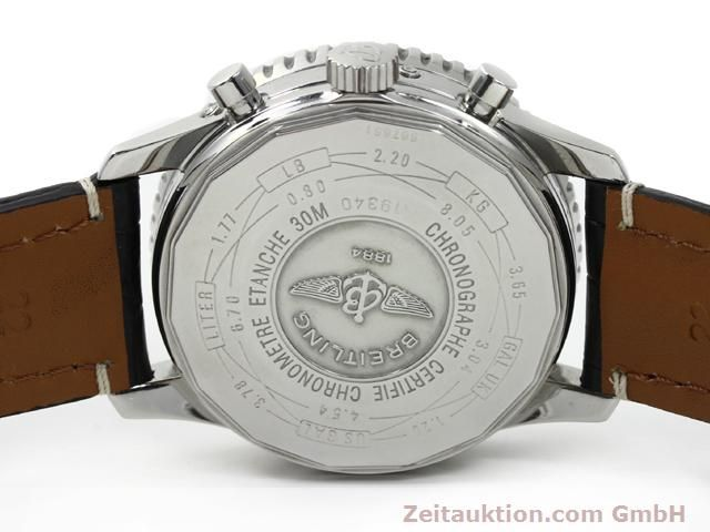 Used luxury watch Breitling Montbrillant steel automatic Kal. ETA 2892A2 Ref. A19340  | 140212 09