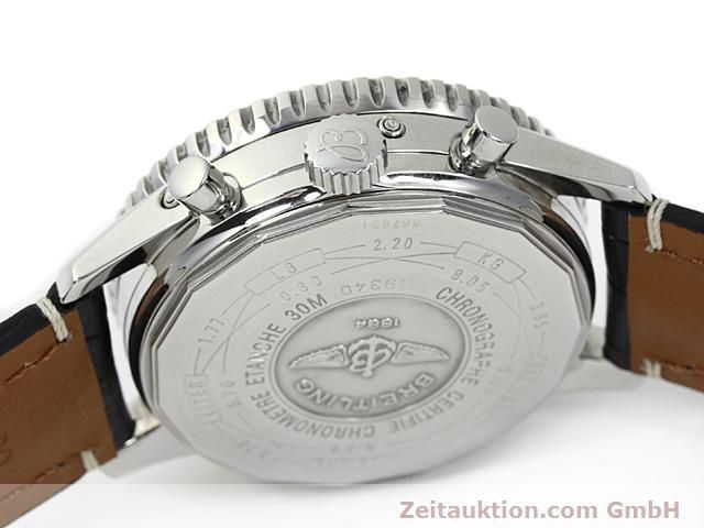 Used luxury watch Breitling Montbrillant steel automatic Kal. ETA 2892A2 Ref. A19340  | 140212 12