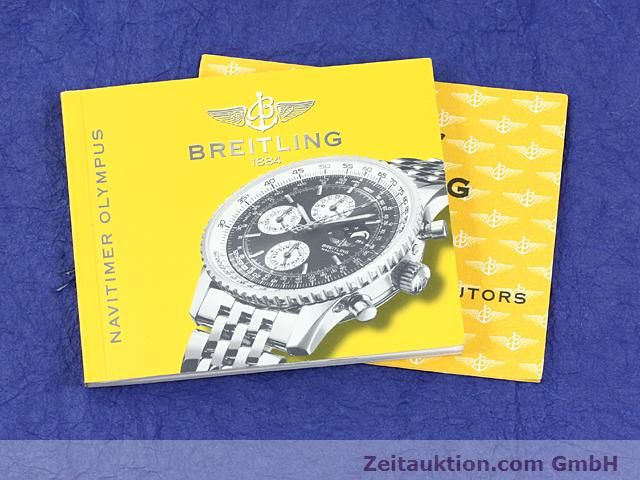 Used luxury watch Breitling Montbrillant steel automatic Kal. ETA 2892A2 Ref. A19340  | 140212 14