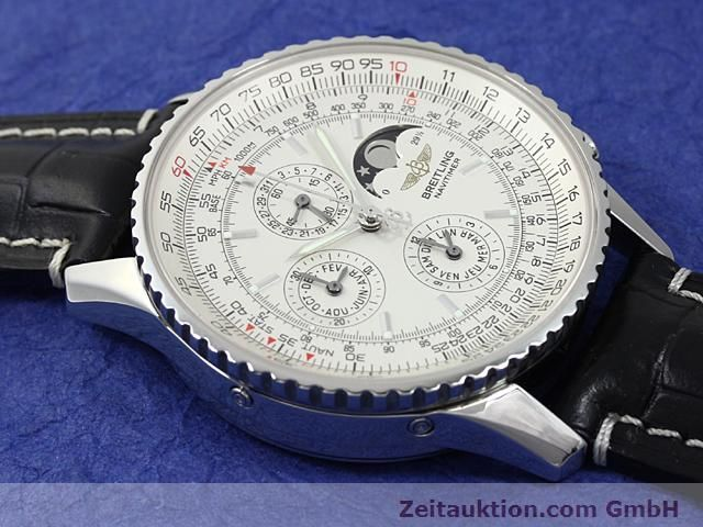 Used luxury watch Breitling Montbrillant steel automatic Kal. ETA 2892A2 Ref. A19340  | 140212 16