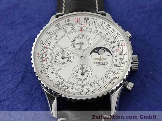 Used luxury watch Breitling Montbrillant steel automatic Kal. ETA 2892A2 Ref. A19340  | 140212 17