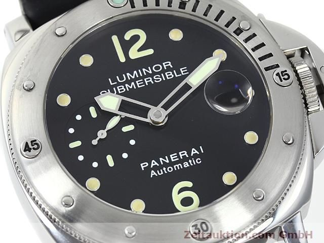 Used luxury watch Panerai Luminor  steel automatic Kal. 7750-P1 (ETA AO5511 Ref. OP6561  | 140214 02