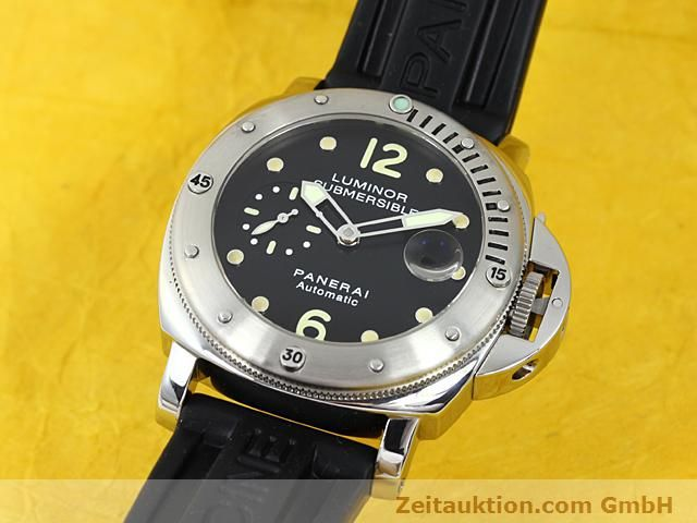 Used luxury watch Panerai Luminor  steel automatic Kal. 7750-P1 (ETA AO5511 Ref. OP6561  | 140214 04
