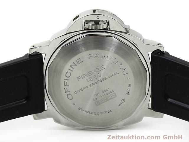 Used luxury watch Panerai Luminor  steel automatic Kal. 7750-P1 (ETA AO5511 Ref. OP6561  | 140214 09