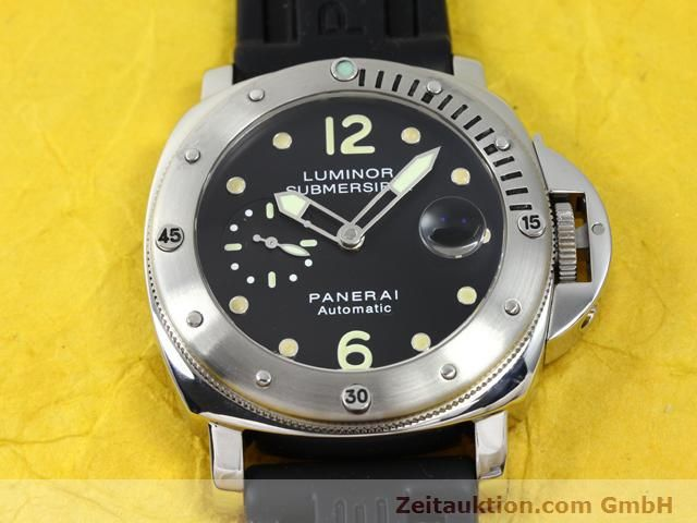 Used luxury watch Panerai Luminor  steel automatic Kal. 7750-P1 (ETA AO5511 Ref. OP6561  | 140214 16