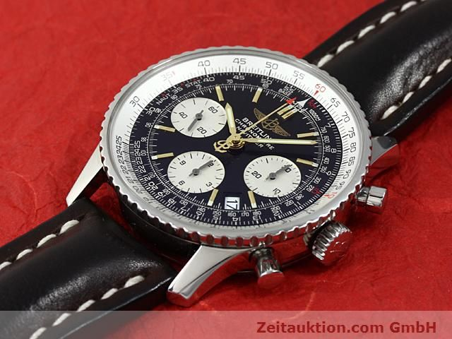 Used luxury watch Breitling Navitimer steel automatic Kal. ETA 7753 Ref. A23322  | 140217 01