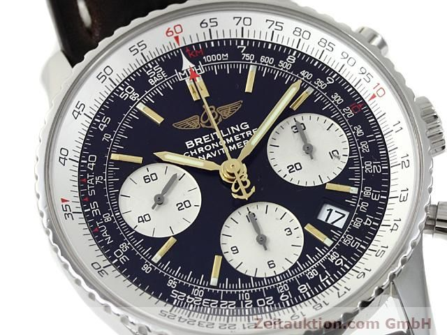 Used luxury watch Breitling Navitimer steel automatic Kal. ETA 7753 Ref. A23322  | 140217 02