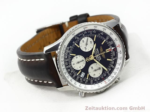 Used luxury watch Breitling Navitimer steel automatic Kal. ETA 7753 Ref. A23322  | 140217 03