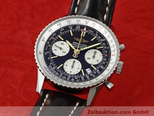 Used luxury watch Breitling Navitimer steel automatic Kal. ETA 7753 Ref. A23322  | 140217 04