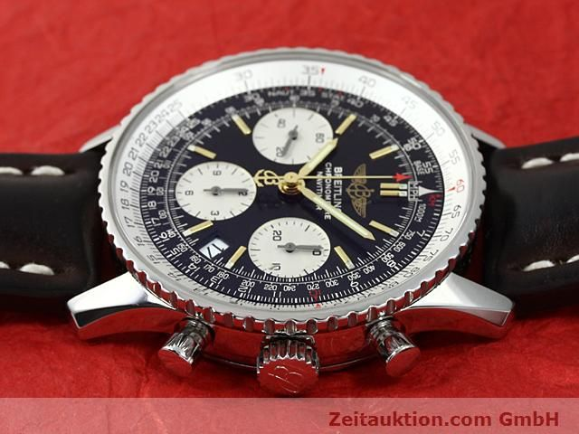 Used luxury watch Breitling Navitimer steel automatic Kal. ETA 7753 Ref. A23322  | 140217 05