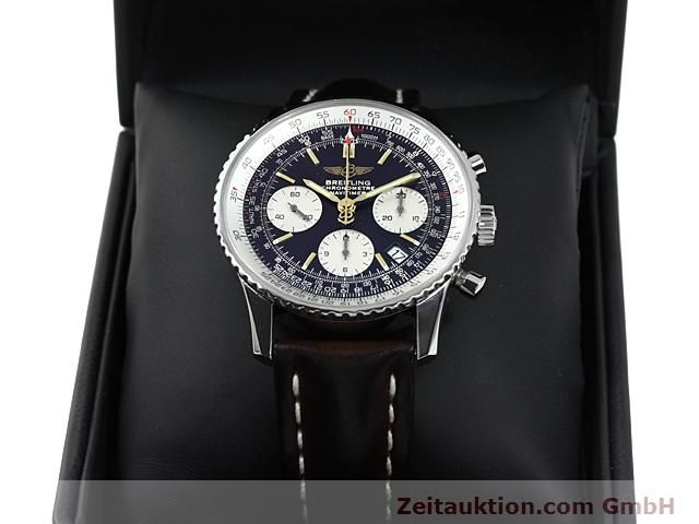 Used luxury watch Breitling Navitimer steel automatic Kal. ETA 7753 Ref. A23322  | 140217 07
