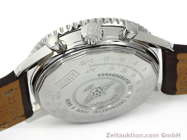 Used luxury watch Breitling Navitimer steel automatic Kal. ETA 7753 Ref. A23322  | 140217 08