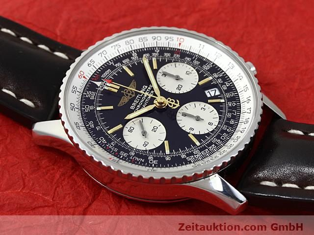 Used luxury watch Breitling Navitimer steel automatic Kal. ETA 7753 Ref. A23322  | 140217 14
