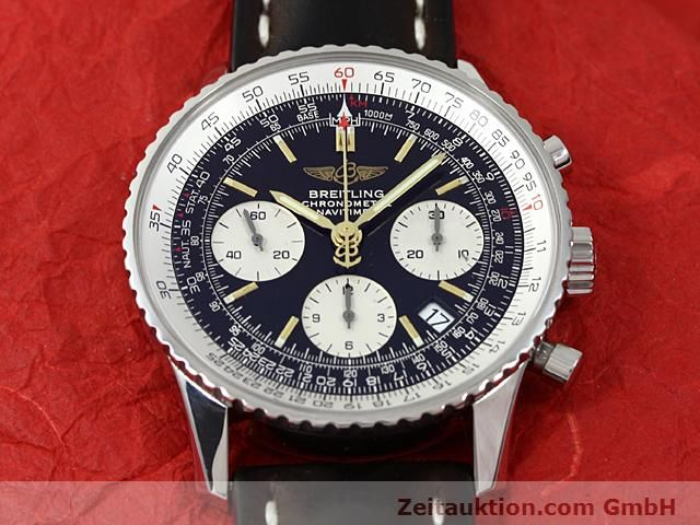Used luxury watch Breitling Navitimer steel automatic Kal. ETA 7753 Ref. A23322  | 140217 15