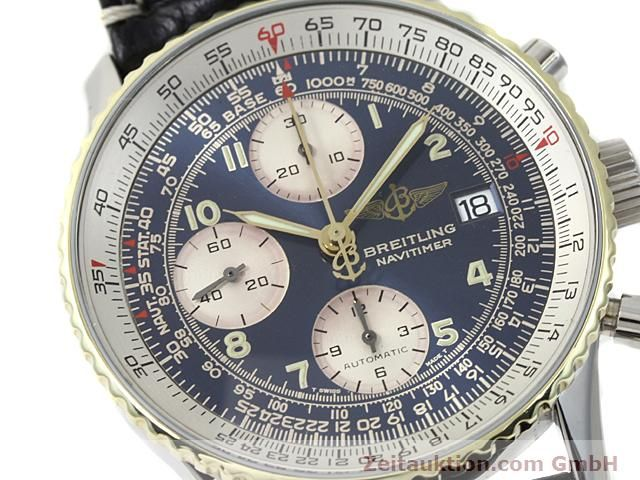 Used luxury watch Breitling Navitimer gilt steel automatic Kal. ETA 7750 Ref. 81610  | 140218 02