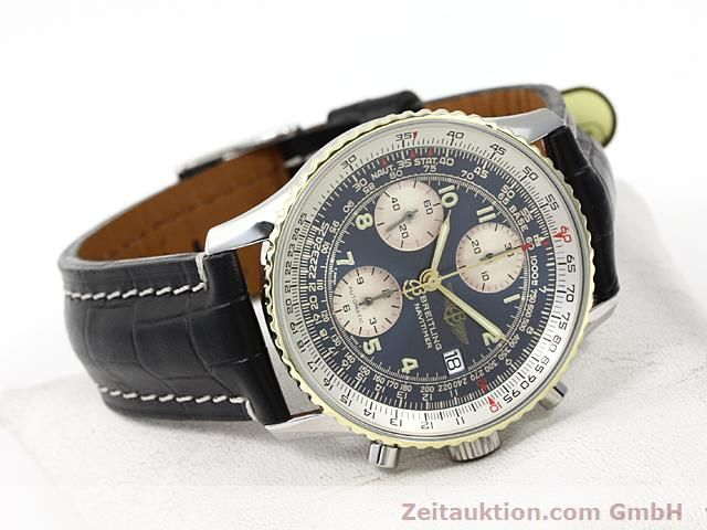 Used luxury watch Breitling Navitimer gilt steel automatic Kal. ETA 7750 Ref. 81610  | 140218 03