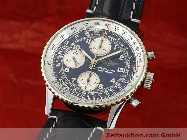 Used luxury watch Breitling Navitimer gilt steel automatic Kal. ETA 7750 Ref. 81610  | 140218 04
