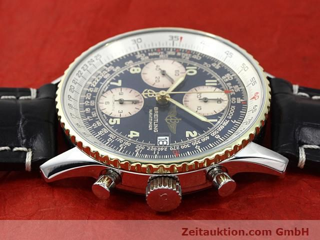 Used luxury watch Breitling Navitimer gilt steel automatic Kal. ETA 7750 Ref. 81610  | 140218 05