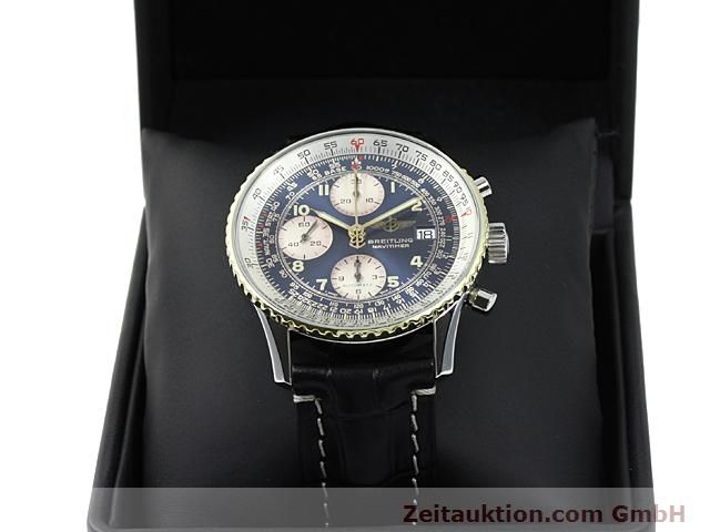 Used luxury watch Breitling Navitimer gilt steel automatic Kal. ETA 7750 Ref. 81610  | 140218 07