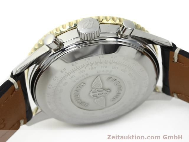 Used luxury watch Breitling Navitimer gilt steel automatic Kal. ETA 7750 Ref. 81610  | 140218 08