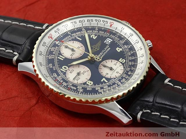 Used luxury watch Breitling Navitimer gilt steel automatic Kal. ETA 7750 Ref. 81610  | 140218 12