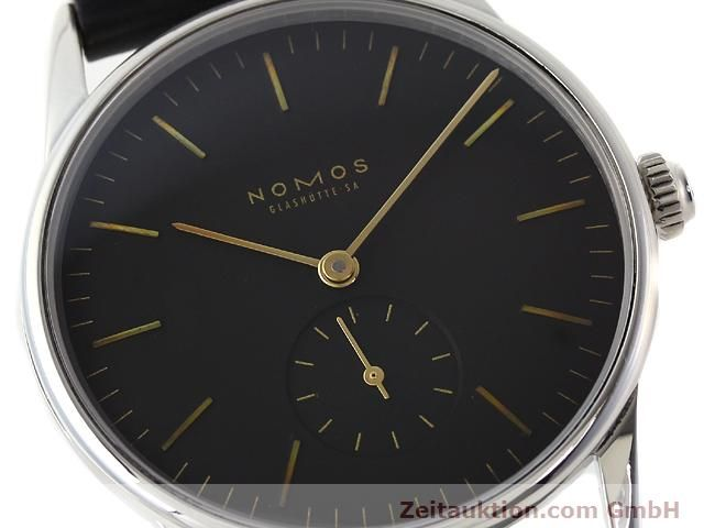 Used luxury watch Nomos Orion steel manual winding Kal. ETA 7001  | 140221 02