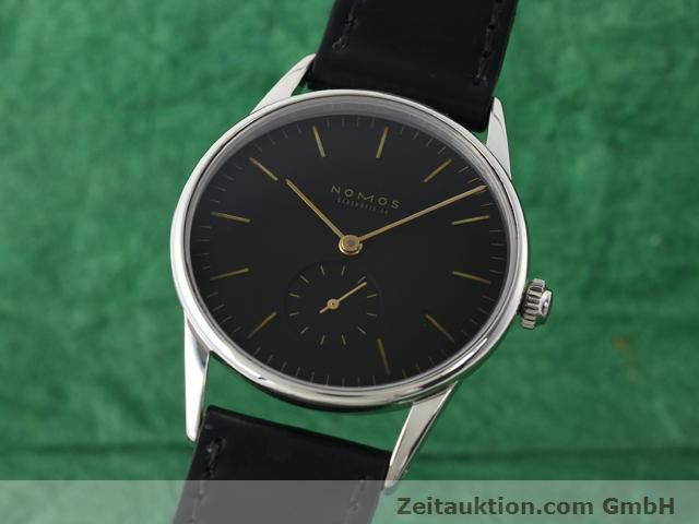 Used luxury watch Nomos Orion steel manual winding Kal. ETA 7001  | 140221 04