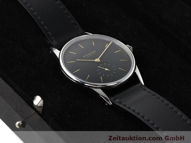 Used luxury watch Nomos Orion steel manual winding Kal. ETA 7001  | 140221 07