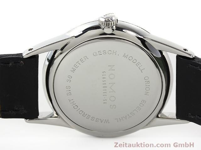 Used luxury watch Nomos Orion steel manual winding Kal. ETA 7001  | 140221 09