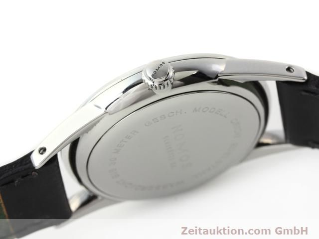 Used luxury watch Nomos Orion steel manual winding Kal. ETA 7001  | 140221 11