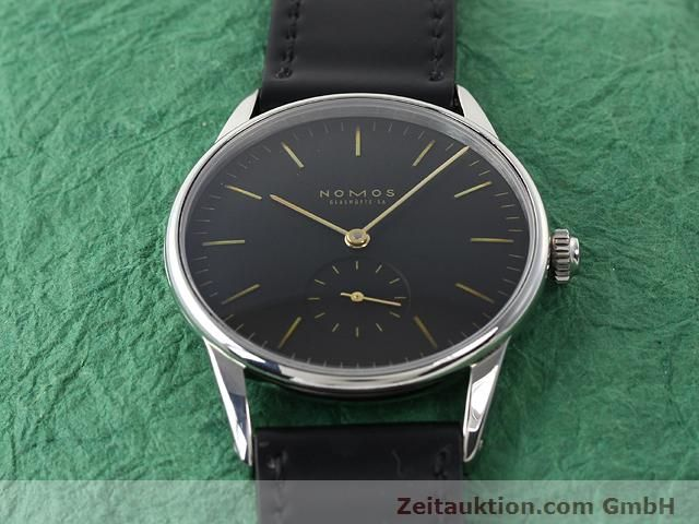 Used luxury watch Nomos Orion steel manual winding Kal. ETA 7001  | 140221 15