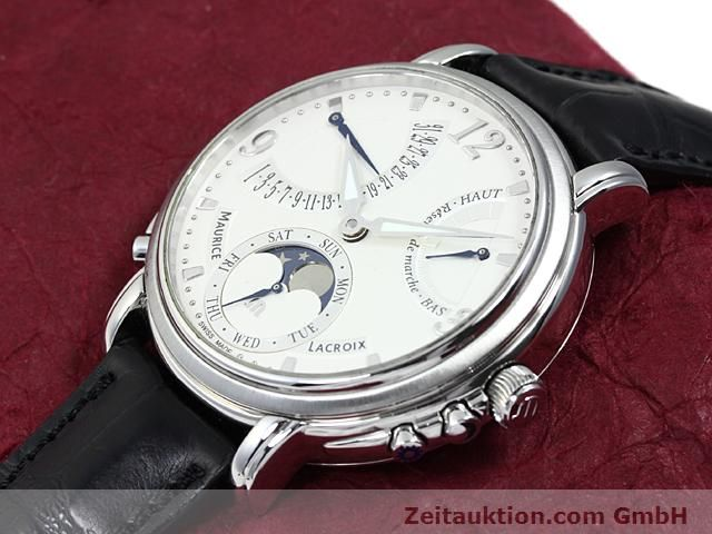 Used luxury watch Maurice Lacroix Masterpiece steel manual winding Kal. ML 104 ETA 6496-1 Ref. MP7078  | 140223 01