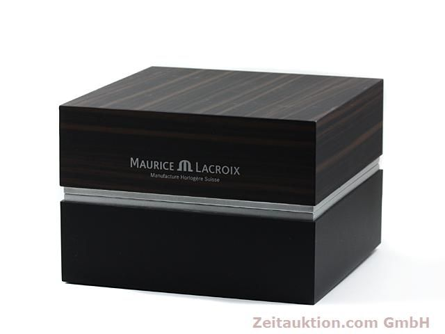 Used luxury watch Maurice Lacroix Masterpiece steel manual winding Kal. ML 104 ETA 6496-1 Ref. MP7078  | 140223 06